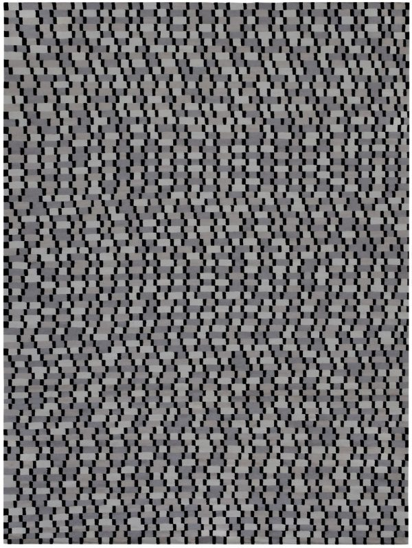 I+I_Tempo Cinque_green, wool tappeto carpet rug handwoven design in Milan Italy India colour